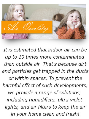 Maintaining and regularly servicing your AC unit can provide not only a comfortable atmostpher in your home or business but better air quality.
